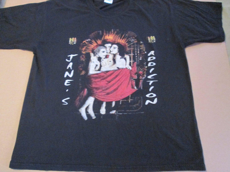 Vintage Janes Addiction Concert Tour Shirt Size XL