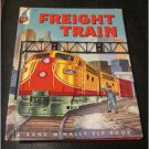 Vintage Freight Train A Rand McNally Elf Book E.C. Reichert