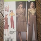 Simplicity Pattern 3688 1940's Retro Blouse, Skirt, Pants,Jacket Sizes 10-12-14-16-18 FREE SHIPPING