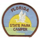 STATE PATCH - FLORIDA STATE PARK CAMPER - CAMPING SUN SEA BIRD