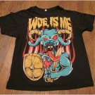 WOE IS ME Band Shirt Metalcore Size Large