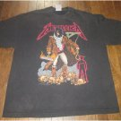 RARE ORIGINAL VINTAGE Giant 1994 METALLICA PUSHEAD UNFORGIVEN Concert T-SHIRT MEN XL FREE SHIPPING