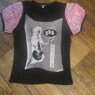 Joan Jett Youth Size Medium Bad Reputation Shirt M