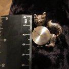 Vintage Estate Find 1960s Signed Jewelarama Winking Cat Brooch