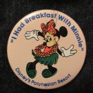 Vintage 1990s 'I Had Breakfast With Minnie'  Disney's Polynesian Resort FREE SHIPPING