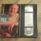 Les Paul The Living Legend of the Electric Guitar Digitally Mastered VHS RARE!!