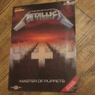 Metallica -Master of Puppets Guitar/Vocal with Tablature Softcover Book Cherry Lane 1988