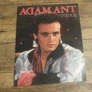 Vintage ADAM ANT 1984 Concert Tour Program Tourbook FREE SHIPPING