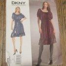 Vogue American Designer DKNY pattern # V2978 Sz AA 8-12 Dress and slip UNCUT