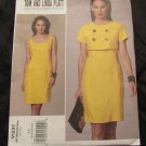 Vogue V1237 Size 6,8,10,12 Tom and Linda Platt Misses Fitted Dress and Jacket Sewing Pattern UNCUT