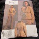 Vogue Pattern V1040 Size ES Misses & Petities 6-8-10-12 Bagdley Mischka Jacket Pants UNCUT