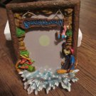 "NEW WALT DISNEY PARKS ""SPLASH MOUNTAIN"" 5X7 RESIN PICTURE FRAME Brer Rabbit Fox and Bear RETIRED"