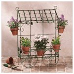 Metal Flower Shop Planter