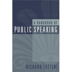 A Handbook of Public Speaking - Letteri 0205319653