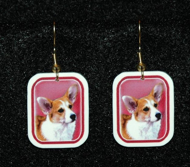 Welch Corgi Jewelry - Handmade Earrings