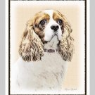 6 Cavalier King Charles Spaniel Note or Greeting Cards