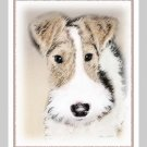 6 Wire Hair Fox Terrier Note or Greeting Cards