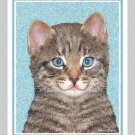 6 Tiger Cat Note or Greeting Cards