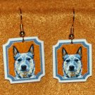 Australian Cattle Dog Jewelry Earrings Handmade