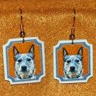 Australian Cattle Dog Jewelry Earrings Handmade
