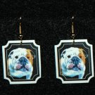 Bulldog Jewelry Earrings Handmade
