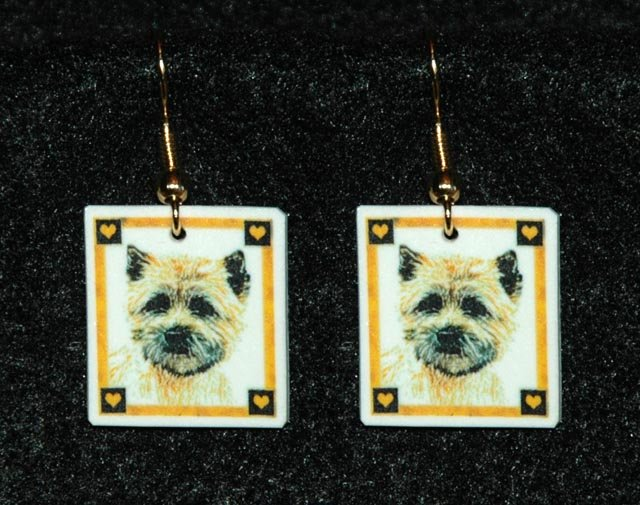 Cairn Terrier Earrings Jewelry