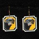 Chesapeake Bay Retriever Dog Jewelry Earrings Handmade