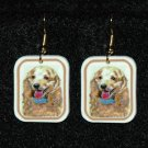 Cocker Spaniel Buff Jewelry Earrings Handmade