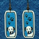 Dalmation Dog Earrings Jewelry Handmade