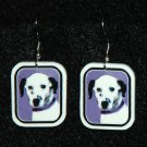 Dalmation Jewelry Earrings Handmade