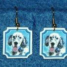 English Setter Jewelry Earrings Handmade