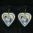 Havanese Puppy Jewelry Earrings Handmade