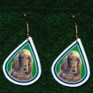 Irish Setter Jewelry Earrings Handmade