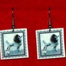 Poodle Jewelry Earrings Handmade