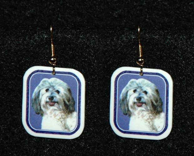 Havanese Jewelry Earrings Handmade