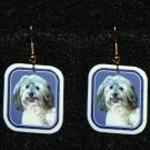 Havanese Jewelry Earrings Handmade