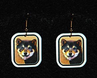 Shiba Inu Jewelry Earrings Handmade