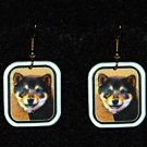 Shiba Inu Jewelry Earrings Handmade
