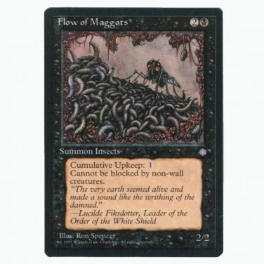 Flow of Maggots Ice Age  NM  Magic The Gathering MTG