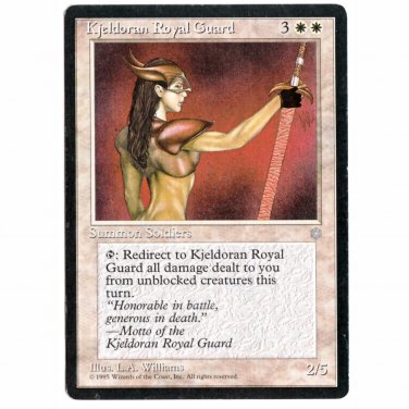Kjeldoran Royal Guard Ice Age NM  Magic The Gathering MTG