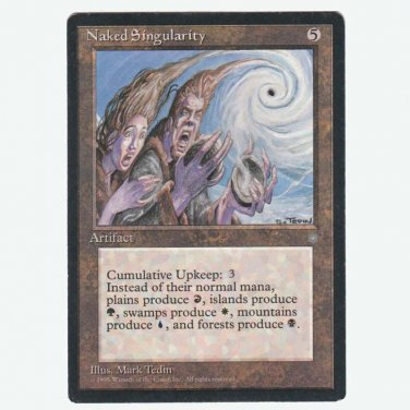 Naked Singularity  Ice Age  NM  Magic The Gathering MTG