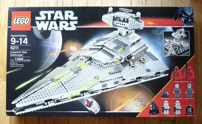 LEGO Star Wars Star Destroyer 6211