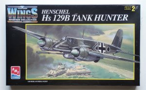 AMT ERTL Henschel Hs 129B 1/48 Scale NEW