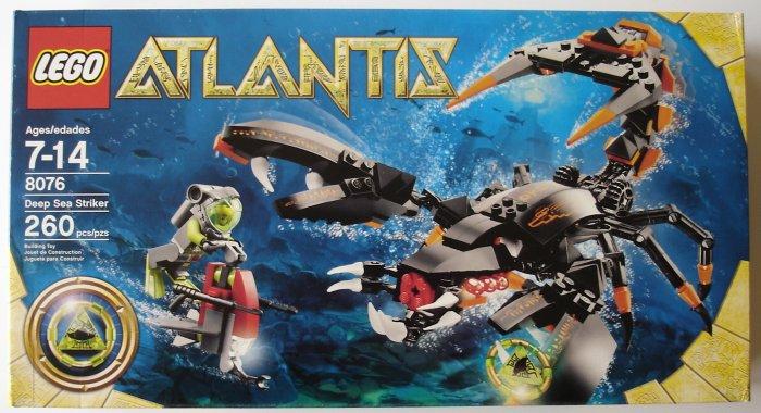 LEGO Atlantis Deep Sea Striker 8076 NEW