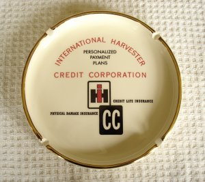 Vintage International Harvester Ashtray