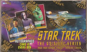 Fleer Skybox Star Trek: The Original Series Season 3 Trading Cards Box NEW
