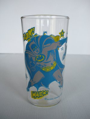 Vintage Batman Drinking Glass