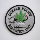 DeKalb County Narcotics Unit Police Patch