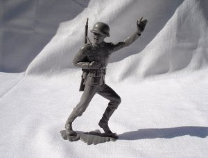 Vintage Marx German Soldier