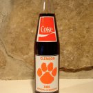 Vintage 1981 Clemson University Coke Bottle